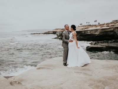 Whitney & Jason Elopement; Sunset Cliffs San Diego